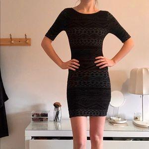 Unique Body-con Dress